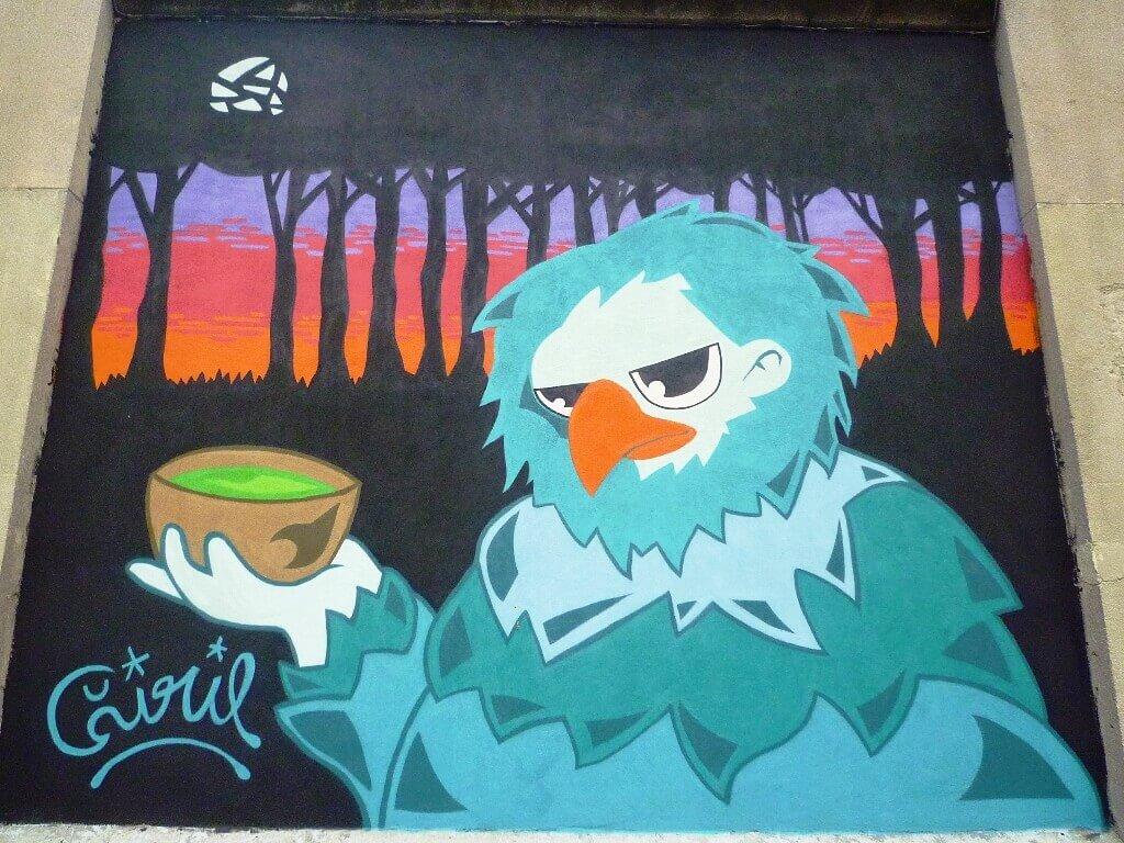 mural de Ciril24 na tabacalera
