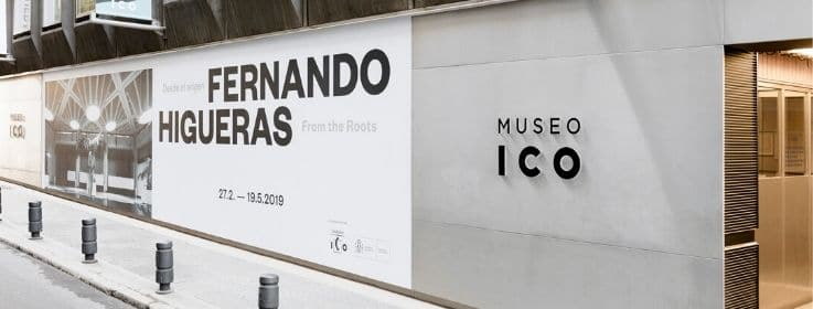 entrada do museu ico em madrid
