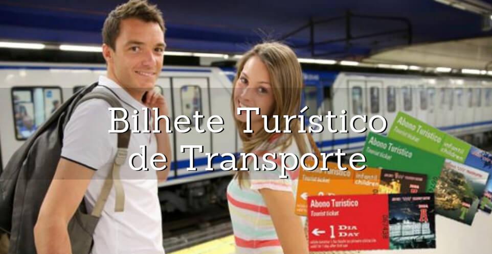 bilhete turistico de transporte madrid