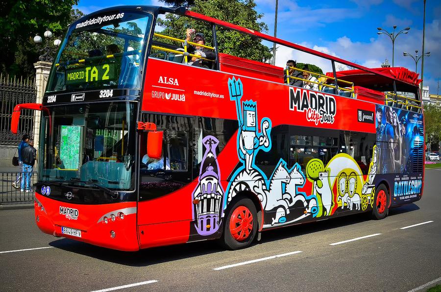 madrid city tour autocarro turistico curiosidade o que fazer em madrid