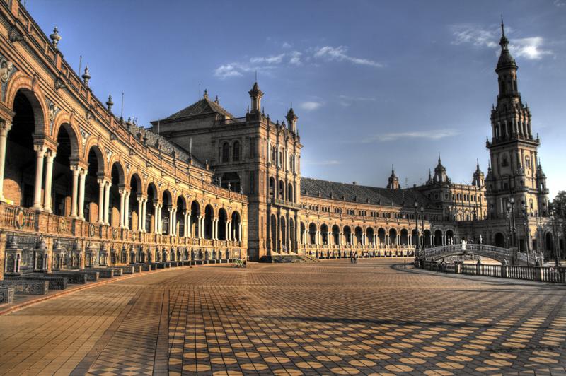 Plaza de Espanha, Sevilha espanha 50 cidades para ver antes de morrer curiosidades