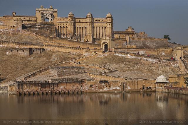 Forte Amer, Jaipur india 50 cidades para ver antes de morrer curiosidades