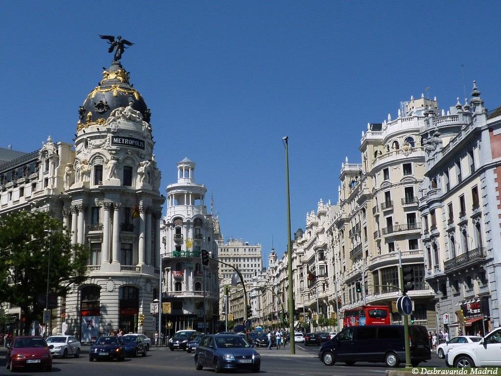 edificio metropolis curiosidades madrid 10 lugares mais fotografados de Madrid o que fazer em madrid