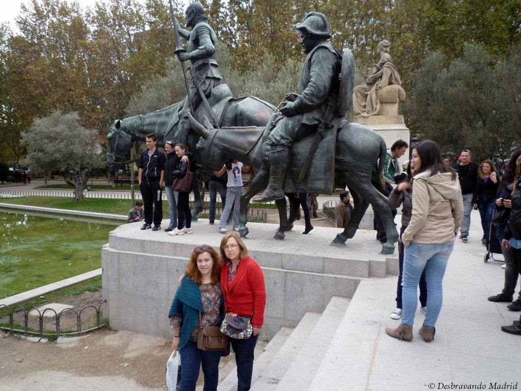 don quixote quijote sancho pança panza plaza españa praça espanha curiosidades madrid 10 lugares mais fotografados de Madrid o que fazer em madrid