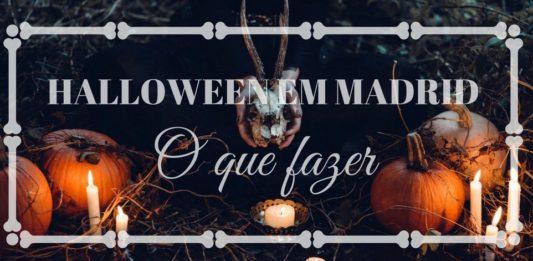 o que fazer no halloween em madrid