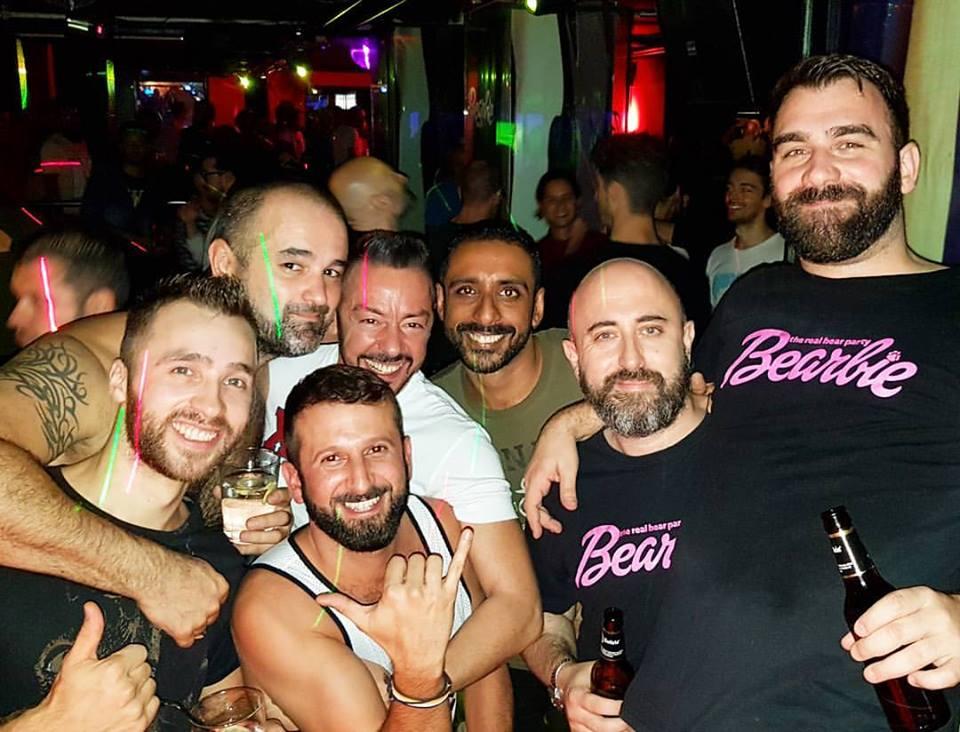 bearbie madrid discoteca bears