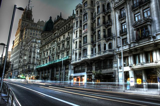 Gran Vía,expressões típicas de Madrid