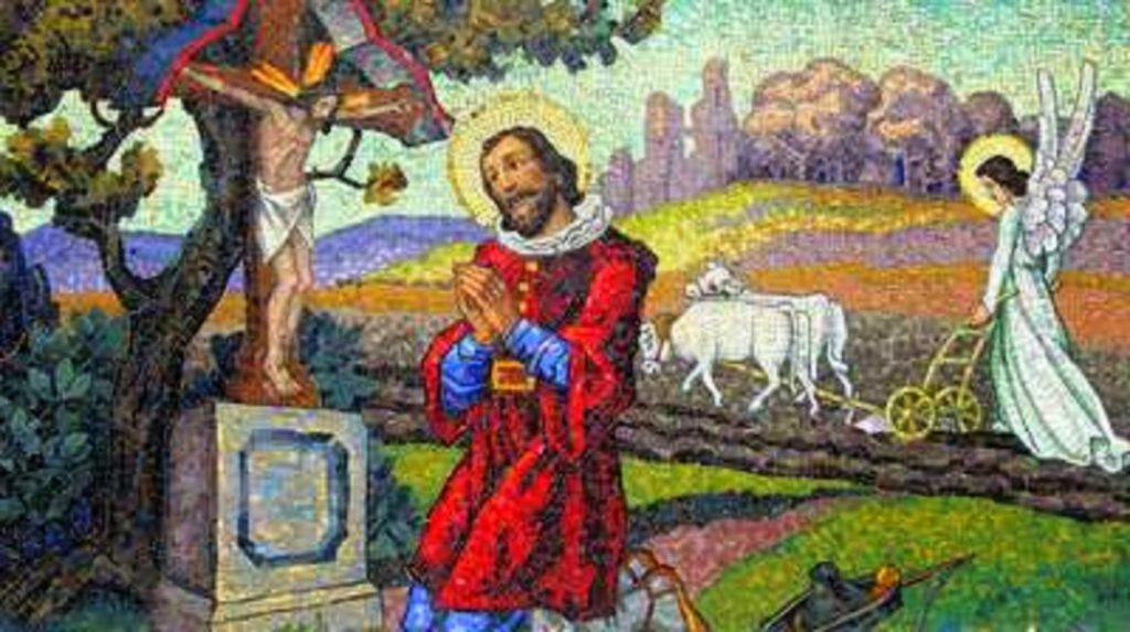 Milagres de san isidro, ajuda divina no campo, san isidro, madrid