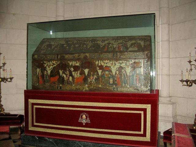 San Isidro, arca mosaica, Catedral da Almudena