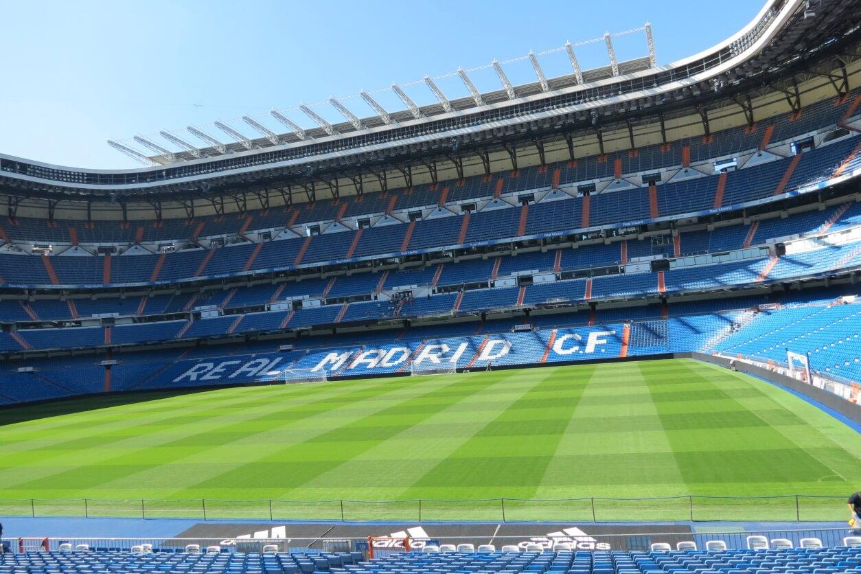"Estádio Santiago Bernabéu, o ""culpado"" da visita a Madrid"