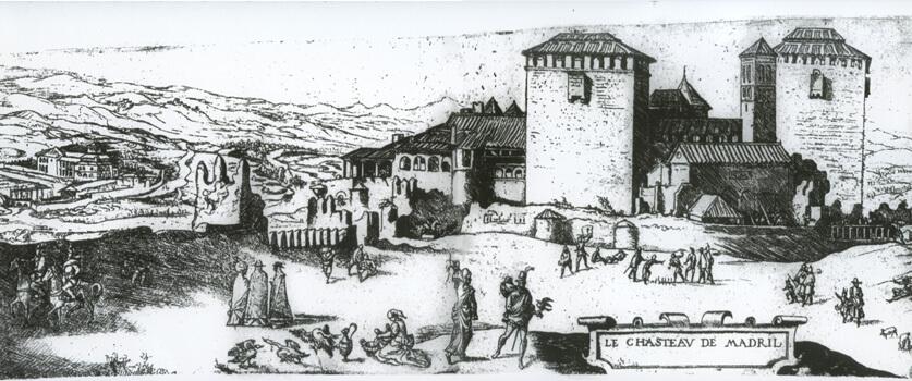 Alcazar de Madrid em 1534