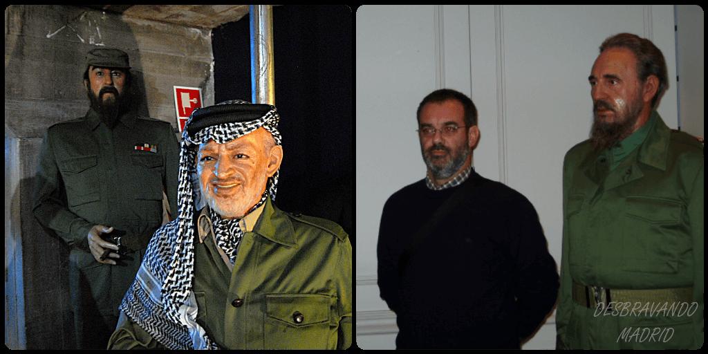 museu cera madrid arafat