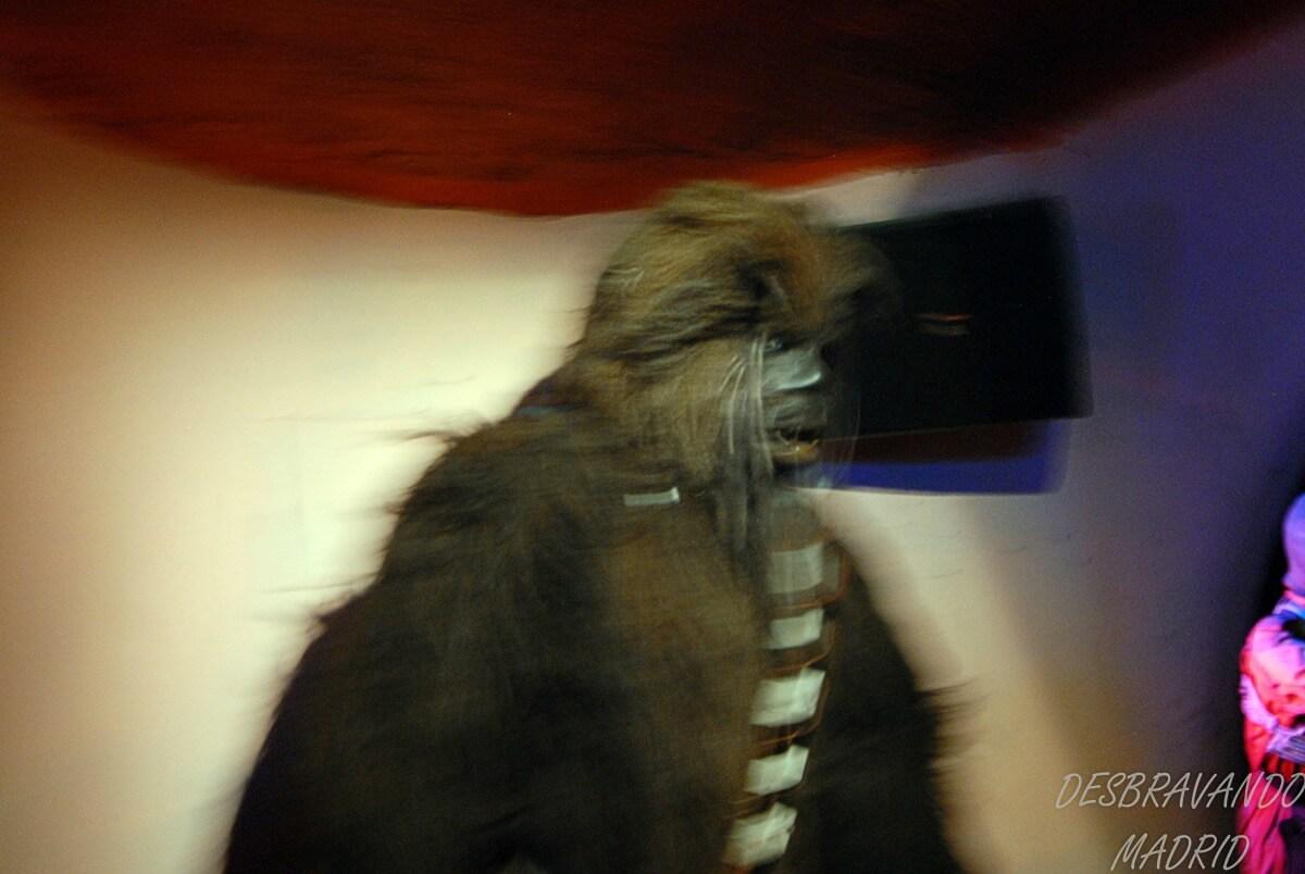 museu cera madrid chewwacca