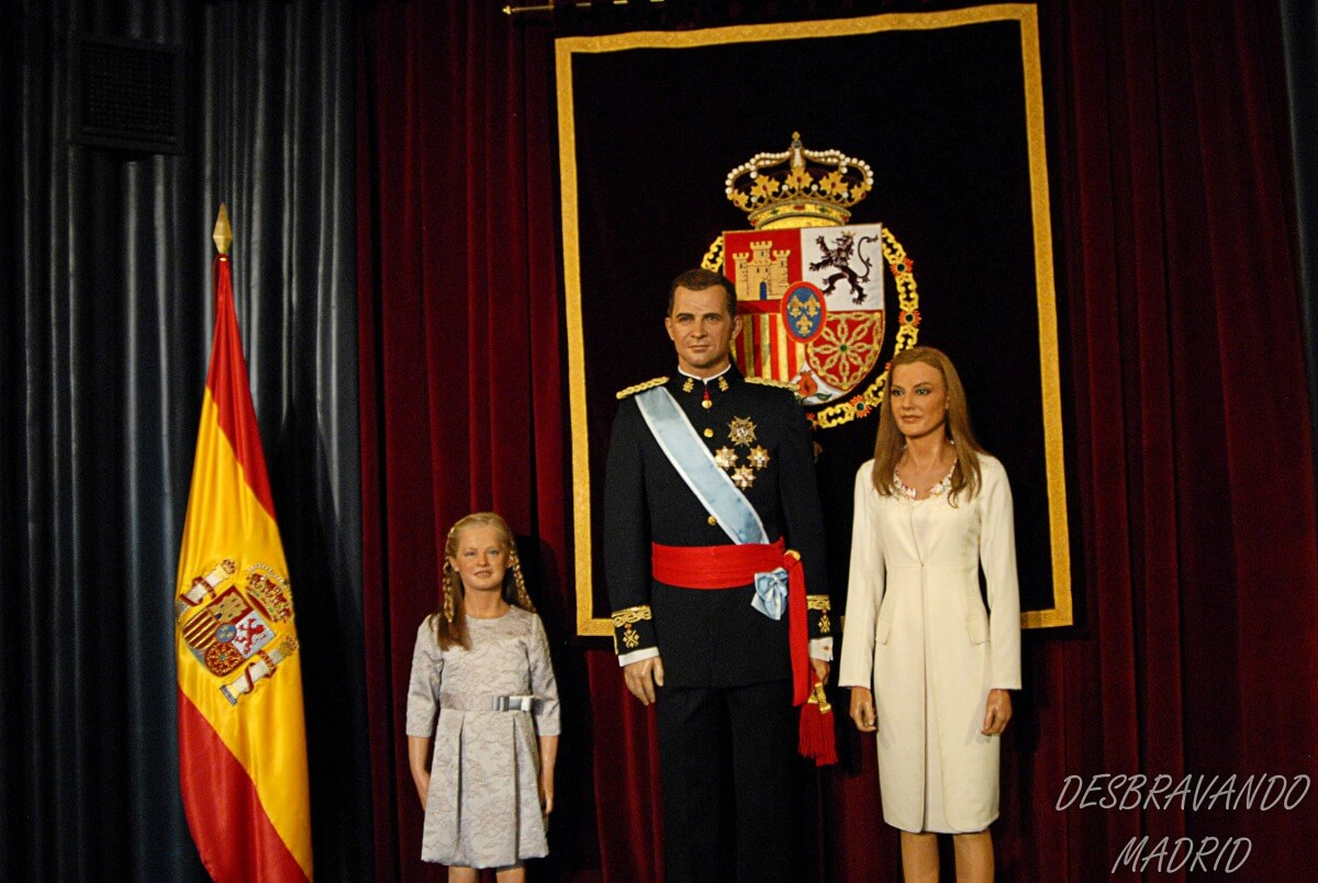 museu cera madrid familia real