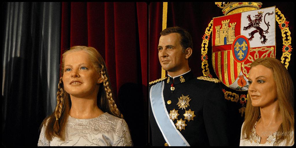 museu cera madrid familia real espanhola