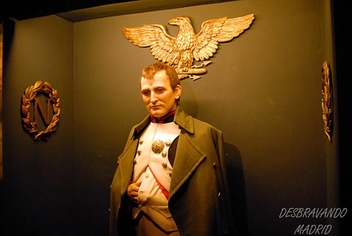 museu cera madrid napoleao