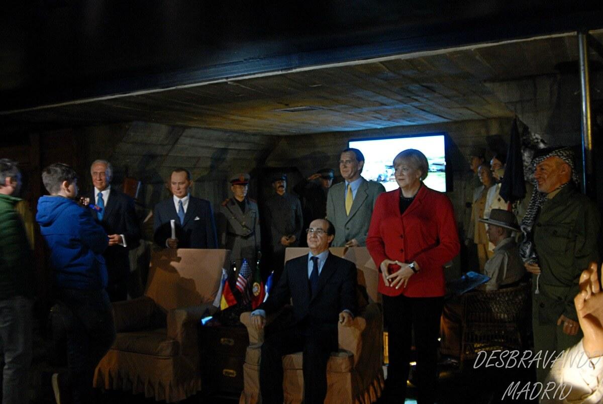 museu cera madrid politicos