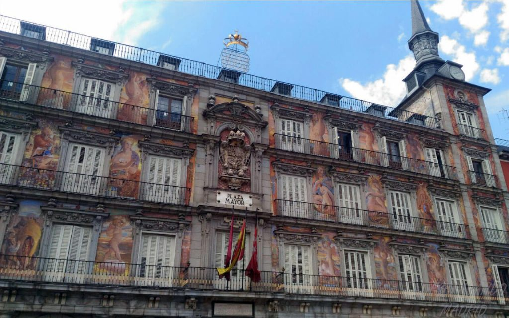 casa da panaderia na plaza mayor de madrid