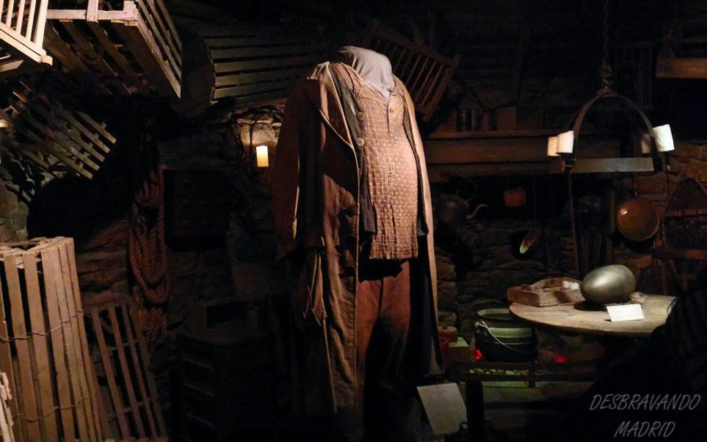 roupa do hagrid