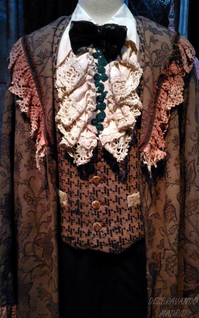 traje de gala do ron