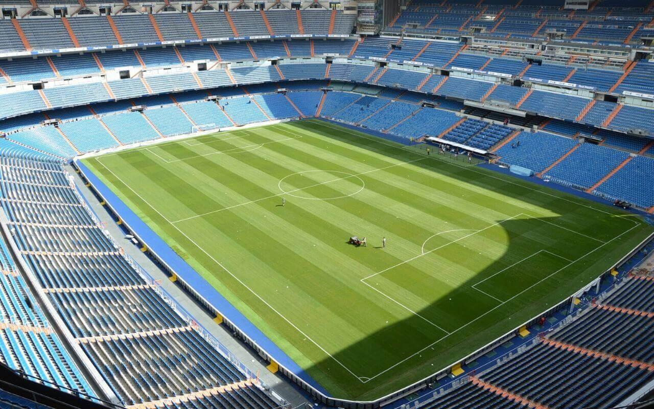 estadio de futebol do real madrid