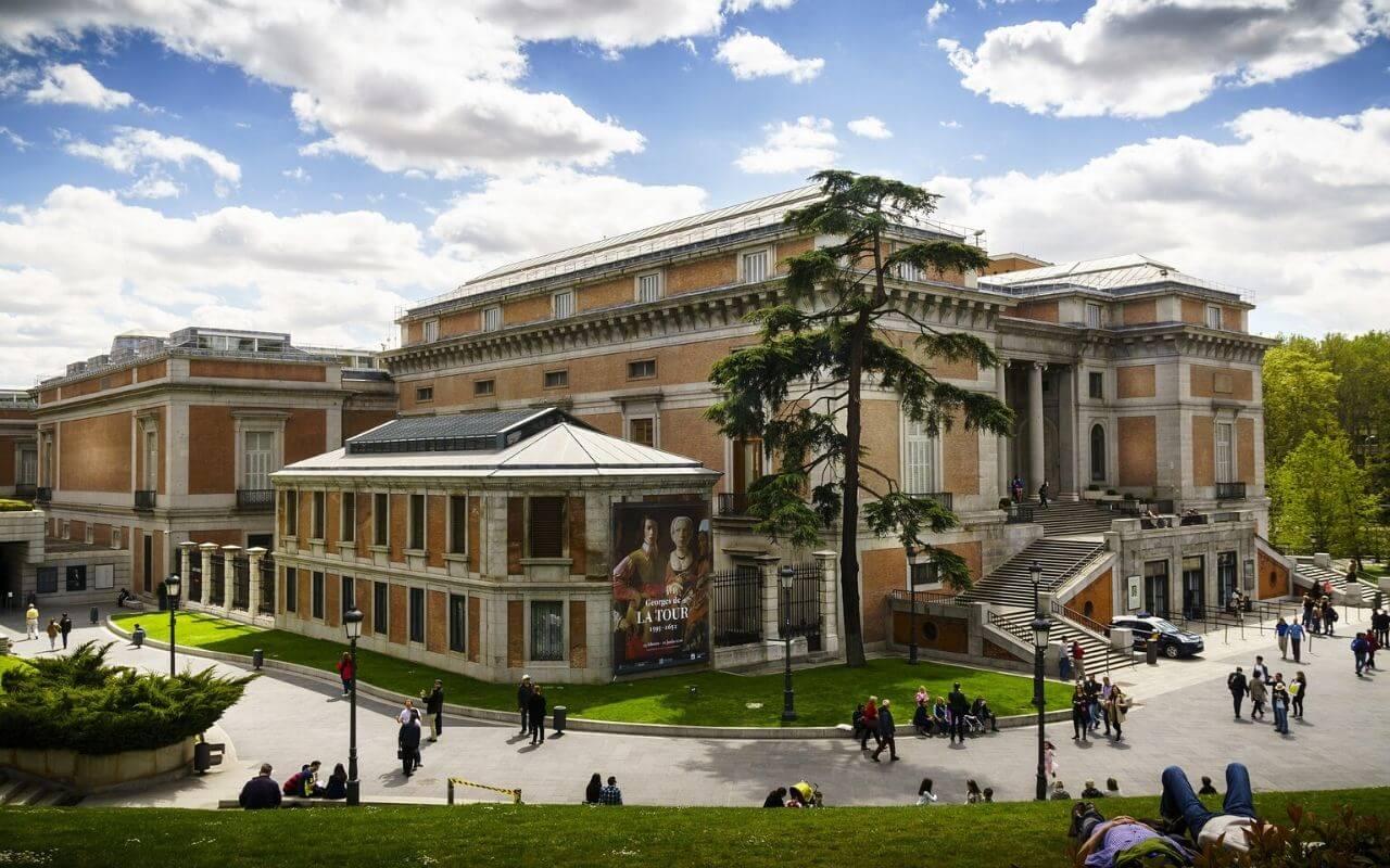 fachada do museu do prado