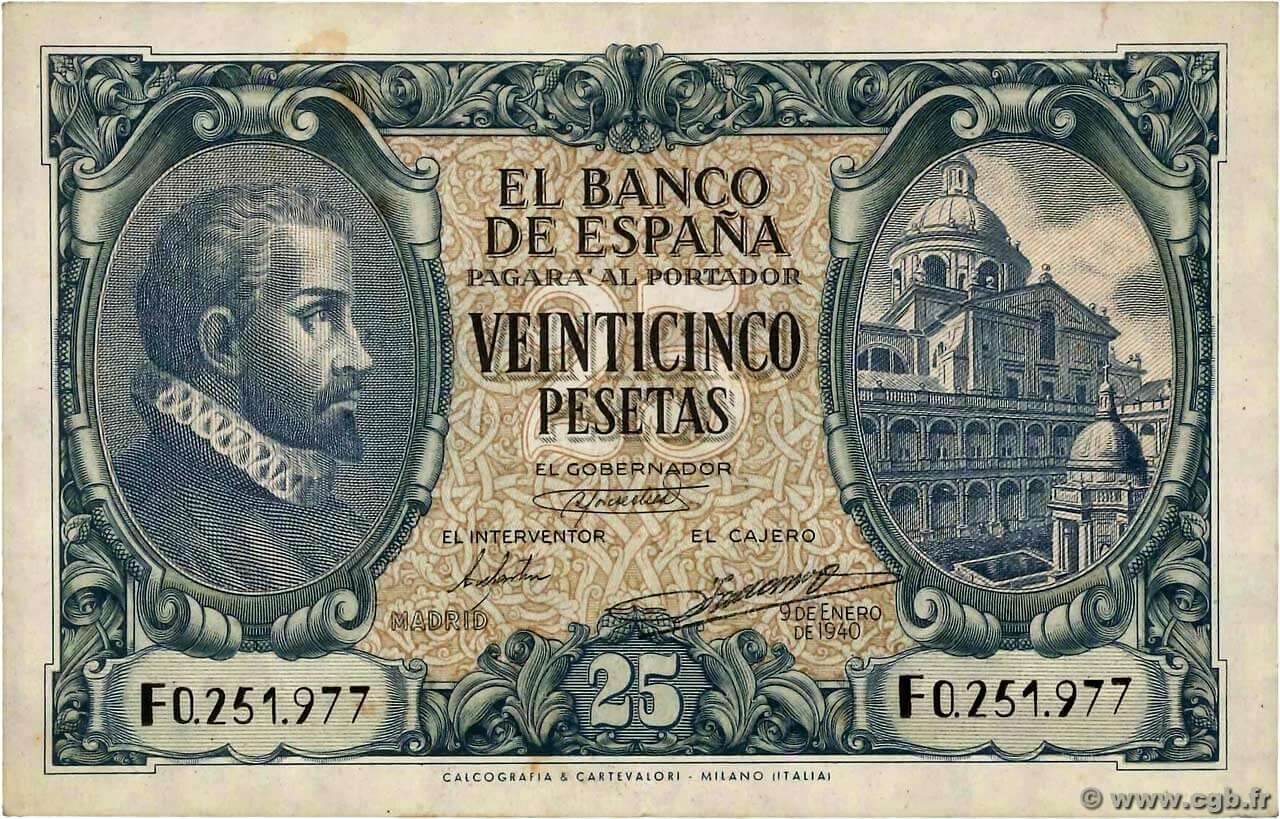 nota antiga espanhola