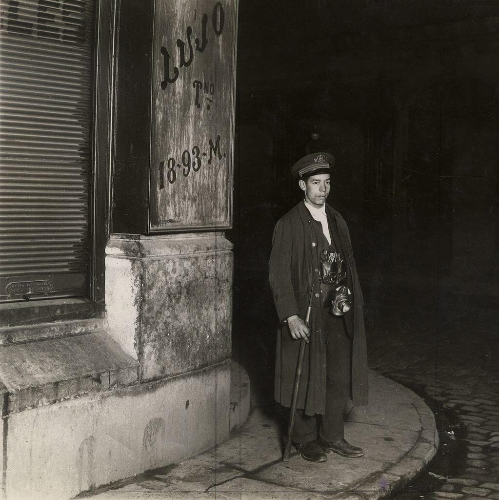 sereno em 1935