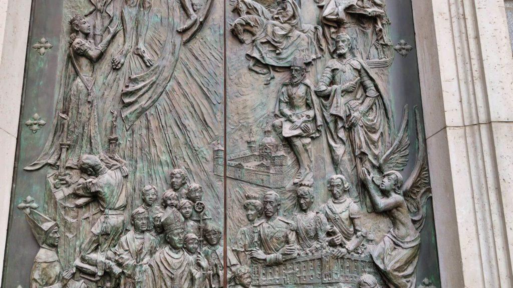 porta dos reis catedral almudena